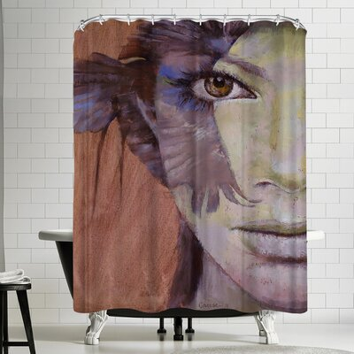 Michael Creese Huntress Shower Curtain