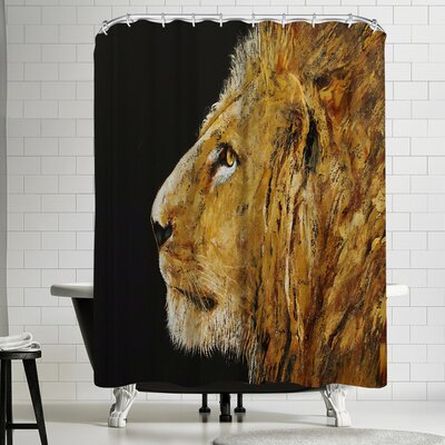 Michael Creese Lion Shower Curtain