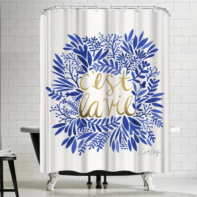 Cat Coquillette Thats Life Shower Curtain