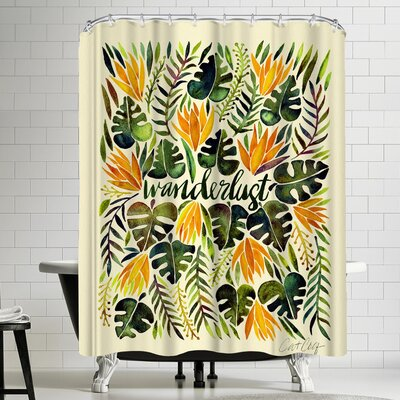 Cat Coquillette Wanderlust Shower Curtain