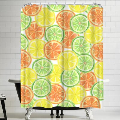 Jetty Printables Citrus Shower Curtain