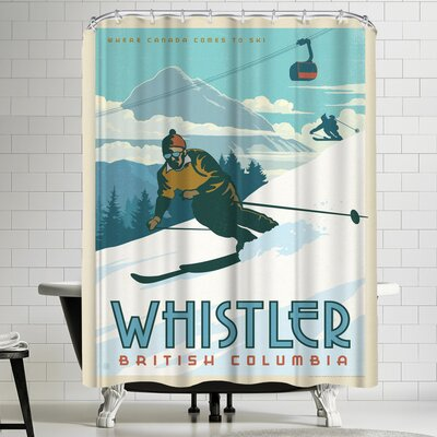 Anderson Design Group Canada Whistler Bc Shower Curtain