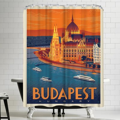 Anderson Design Group Hungary Budapest Shower Curtain