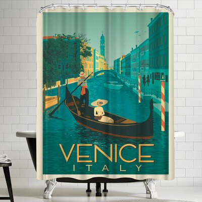 Anderson Design Group Italy Venice 2 Shower Curtain