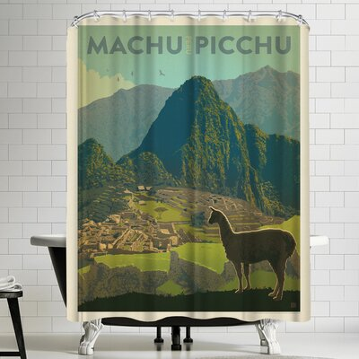 Anderson Design Group Peru Machu Picchu Shower Curtain