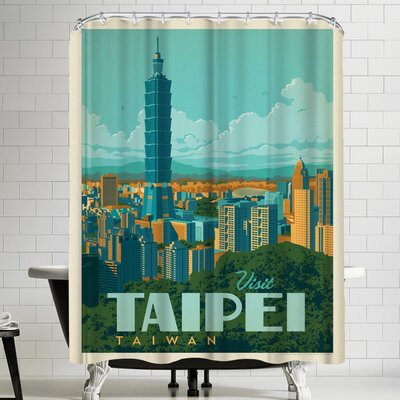Anderson Design Group Taiwan Taipei Shower Curtain