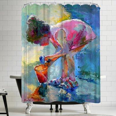 Richard Wallich Shell Finder Shower Curtain
