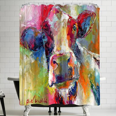 Richard Wallich Cow 1 Shower Curtain