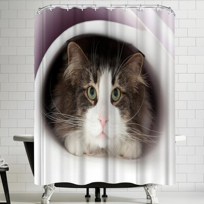 Maja Hrnjak Cat Shower Curtain