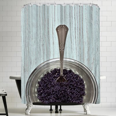 Maja Hrnjak Caviar Shower Curtain