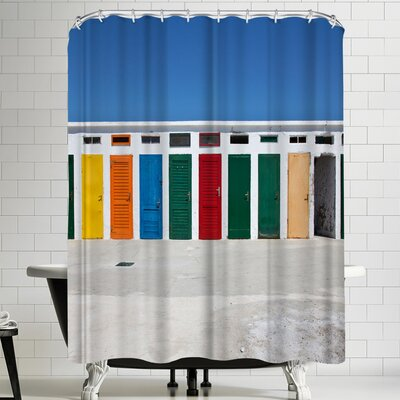 Maja Hrnjak Colors Shower Curtain