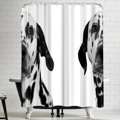Maja Hrnjak Dalmatian Dog 3 Shower Curtain
