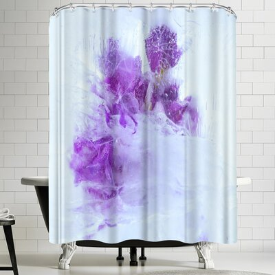 Zina Zinchik Breaking Through Shower Curtain