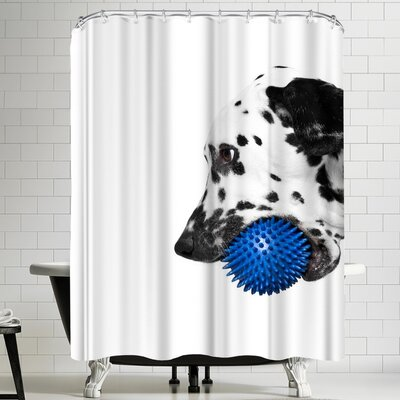 Maja Hrnjak Dalmatian Dog 5 Shower Curtain