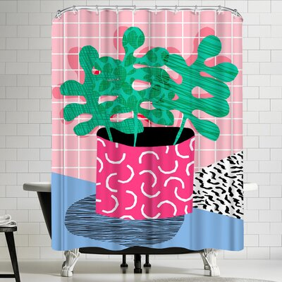 Wacka Designs Shredding Shower Curtain