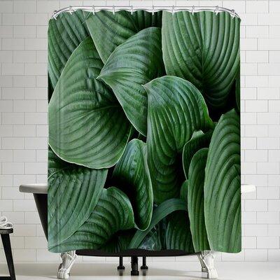 Maja Hrnjak Grean Leaves Shower Curtain