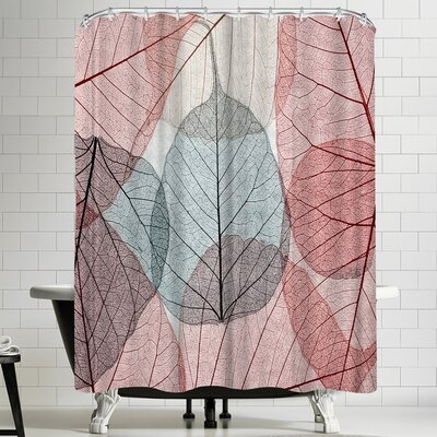 Maja Hrnjak Leaves 2 Shower Curtain