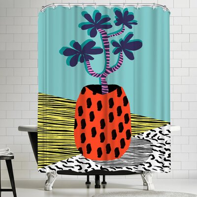 Wacka Designs Spazzing Shower Curtain