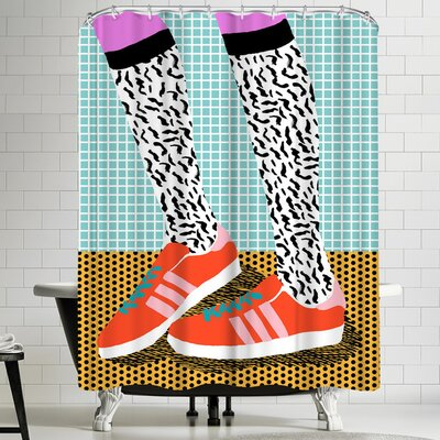 Wacka Designs Spiffy Shower Curtain