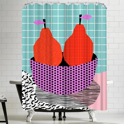 Wacka Designs Sprung Shower Curtain
