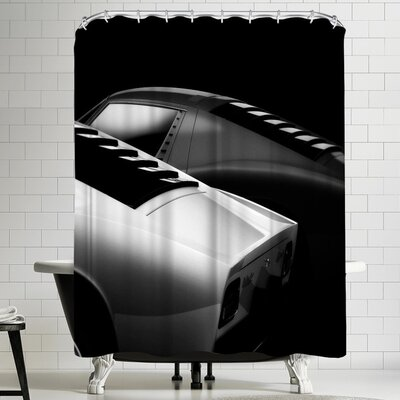 1x 2 Miura Shower Curtain