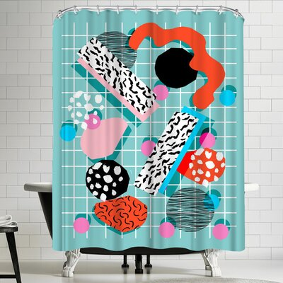 Wacka Designs The 411 Shower Curtain