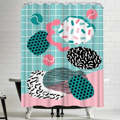 Wacka Designs Throw Down Shower Curtain