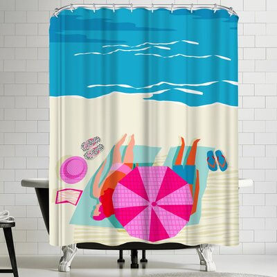 Wacka Designs Toasty Shower Curtain