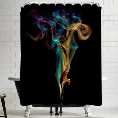 1x Burning Spoon Ii Shower Curtain