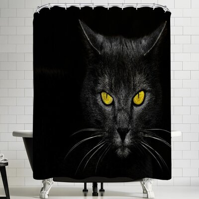 1x Monster Kill Shower Curtain