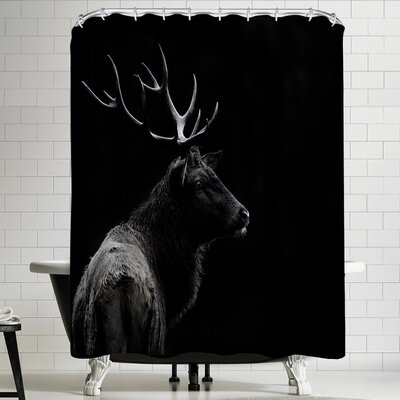1x The Deer Soul Shower Curtain