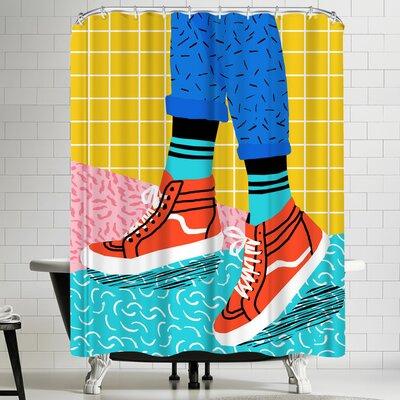 Wacka Designs Toe Drag Shower Curtain
