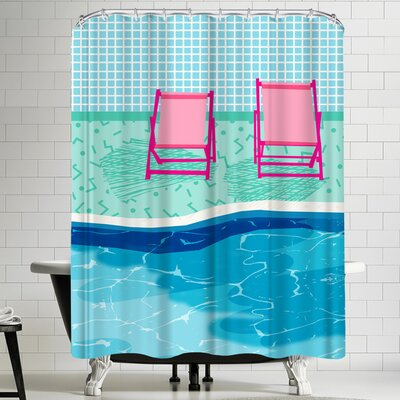 Wacka Designs Vay K Shower Curtain