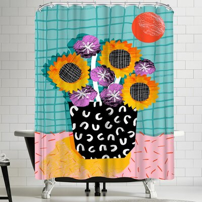 Wacka Designs Wowsers Shower Curtain