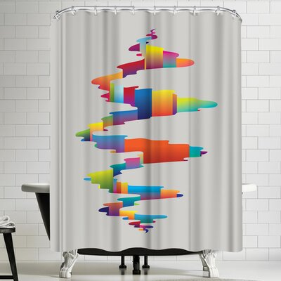 Joe Van Wetering After the Earthquake Shower Curtain