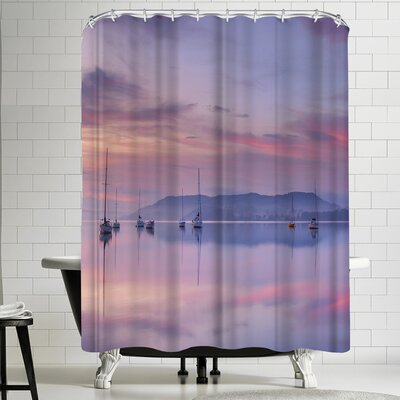 1x Morning Mood Shower Curtain
