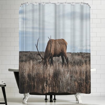 Luke Gram Wyoming USA Shower Curtain