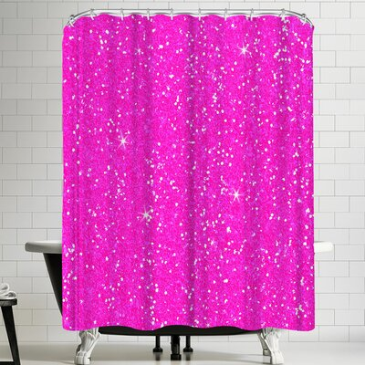 Wonderful Dream Pink Diamond Shower Curtain