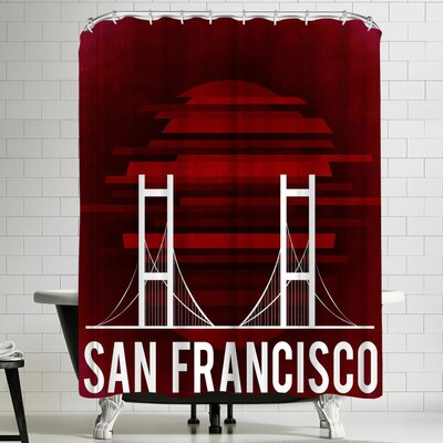 Wonderful Dream San Francisco Us Shower Curtain