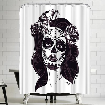 Wonderful Dream Skull Horror Halloween Shower Curtain