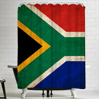 Wonderful Dream South Africa Flag Shower Curtain