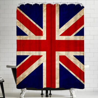 Wonderful Dream United Kingdom Flag Shower Curtain
