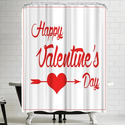 Wonderful Dream Valentine Romance Shower Curtain