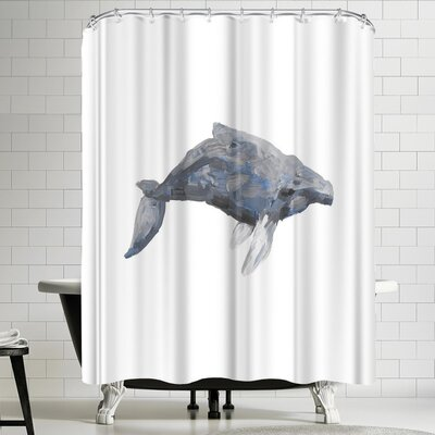 Jetty Printables Humpback Painting Art Shower Curtain