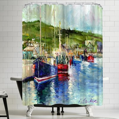 Richard Wallich Dingle Shower Curtain
