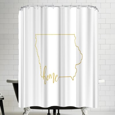 Paperfinch Iowa Home Shower Curtain