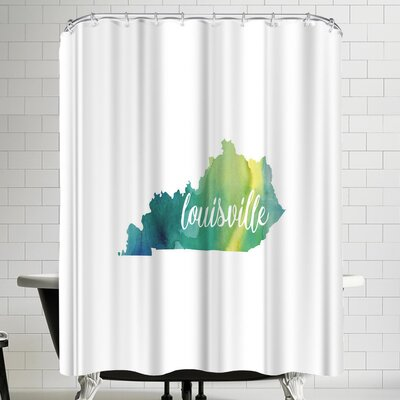 Paperfinch KY Louisville Shower Curtain
