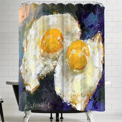 Richard Wallich Sunnyside Up Shower Curtain