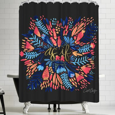 Cat Coquillette Asif Shower Curtain