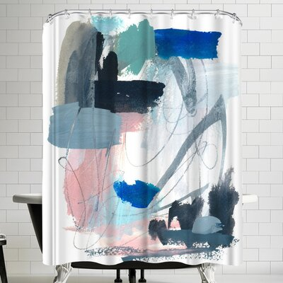 Olimpia Piccoli Rhythms Shower Curtain